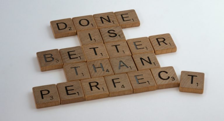 Can being an Optimalist cure perfectionism?